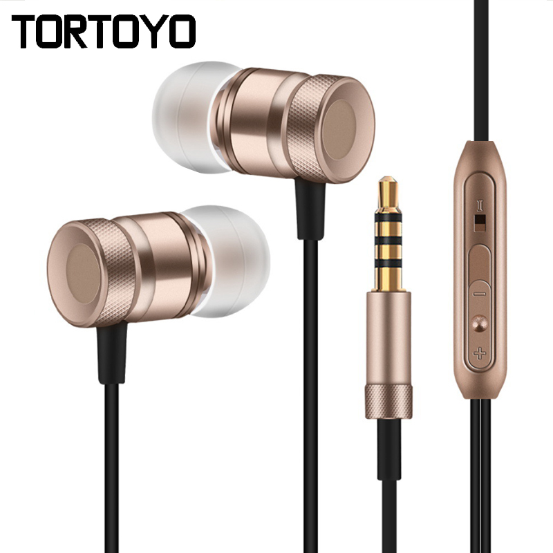 High Quality Universal Metal Bass Stereo Surround In Ear Earphone Earbuds Earpiece for iPhone for Samsung for Sony PC Tablet MP3 universal in ear earphone w flat cable for iphone samsung htc tablet pc blue 3 5mm plug