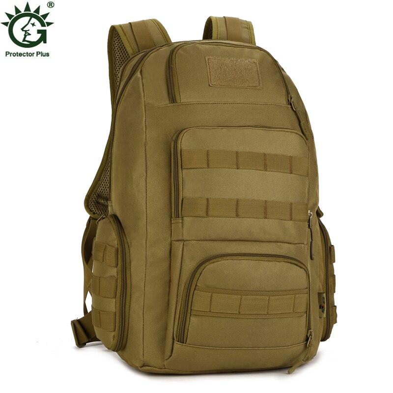 Sac à dos en Nylon imperméable pour hommes sac à dos militaire de 40 litres sacs à dos de haute qualité sacs de voyage armée sac à dos d'ordinateur de 14 pouces