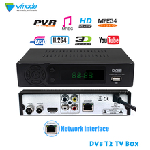 HD 1080p Tv Tuner Dvb T2 Vga TV Box Dvb-t2 For Monitor Adapt