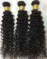 7A бирманский девственные волосы глубокая волна переплетения человеческих волос 3 шт. бразильские вьющиеся волосы девственные глубокая волна странный вьющиеся волна воды