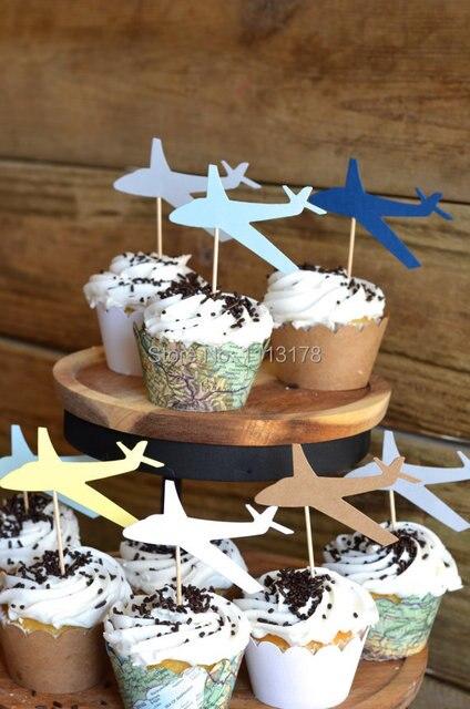 Billig Flugzeug Kuchen Deckel Geburtstag Hochzeit Kuchendeckel