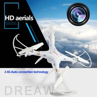 X6SW Real Time Transmission Toys RC 2 4G 4CH 6 Axis Drone Quadcopter Gopro Professional Drones