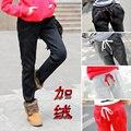 Женщины брюки брюки случайные штаны Корейской версии плюс толстый бархат теплые брюки женский свободный дикий комфорт брюки S2504