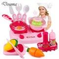 Classic toys para niños de juguete y juego de cocina pretend play toys toys juego de corte de alimentos niños utensilios de cocina para cocinar los alimentos regalos de navidad