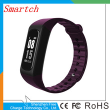 Smartch W4S смарт-браслет сердечного ритма Приборы для измерения артериального давления Мониторы Смарт полосы почасовой Sports Tracker Спецодежда медицинская Класс носимых de