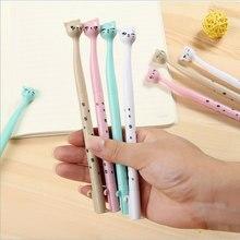 Creative High cat gel pen Kawaii students Writing Neutral pens Caneta Office School Stationery Supplies