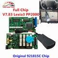 2017 Lexia Full Chip Lexia 3 V48 Diagbox V 7.65 PP2000 V25 Lexia3 Firmware 921815C For Citroen For Peugeot Lexia-3 PP 2000