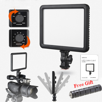 Godox LEDP120 Portable Ultra Slim Soft 3300K-5600K CRI 95+ 12W LED Video Light Panel for DSLR Cameras And Camcorder Photo Studio