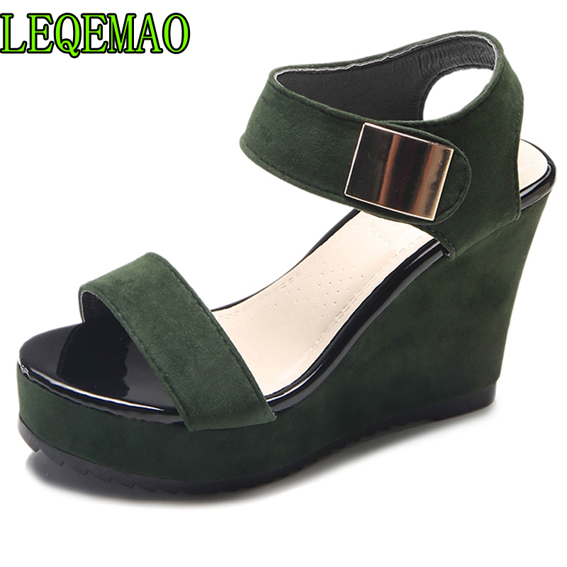 cd58b7e8e734e7 Großhandel green wedge Gallery - Billig kaufen green wedge Partien bei  Aliexpress.com