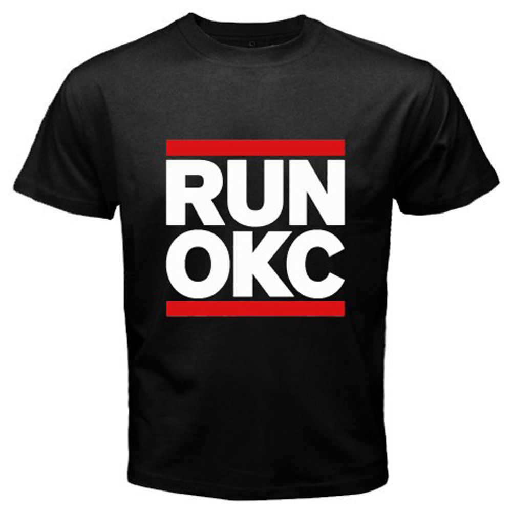 Design t shirt for cheap - Men S Gildan Brand Runer Okc Oklahoma City Loud City Basketballer Design T Shirt Male Cool Tops