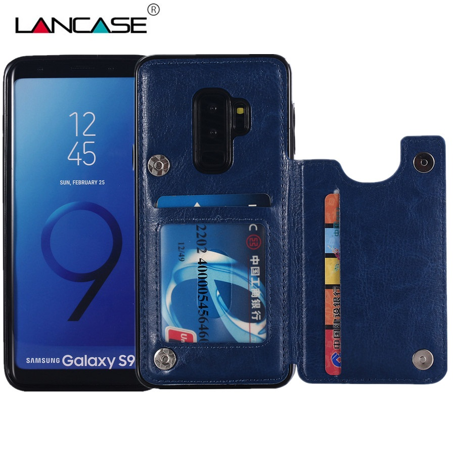LANCASE For Samung S9 Case Flip PU Leather Wallet Coque For Samsung Galaxy S9 Plus S8 S8 ...