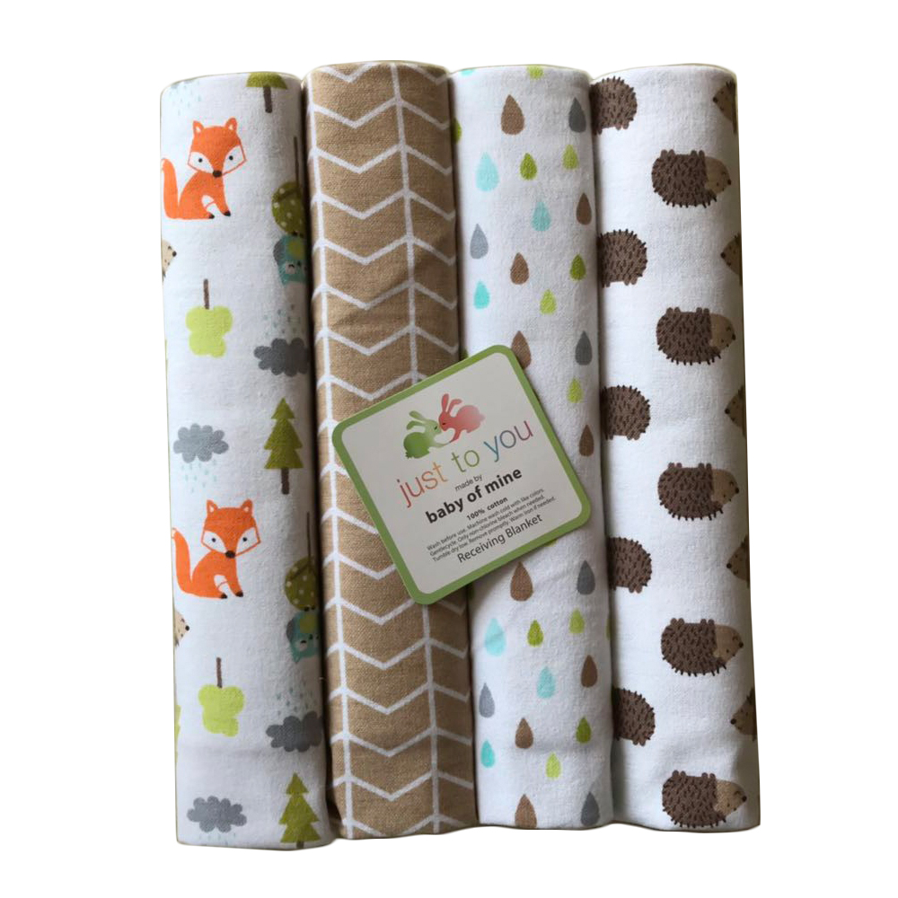 Newborn Baby Crib Sheets Infant swaddle Toddler Bed Sheets Multi-Functional Baby Blankets Kids Cotton Bed Sheet Bedding Sets ...