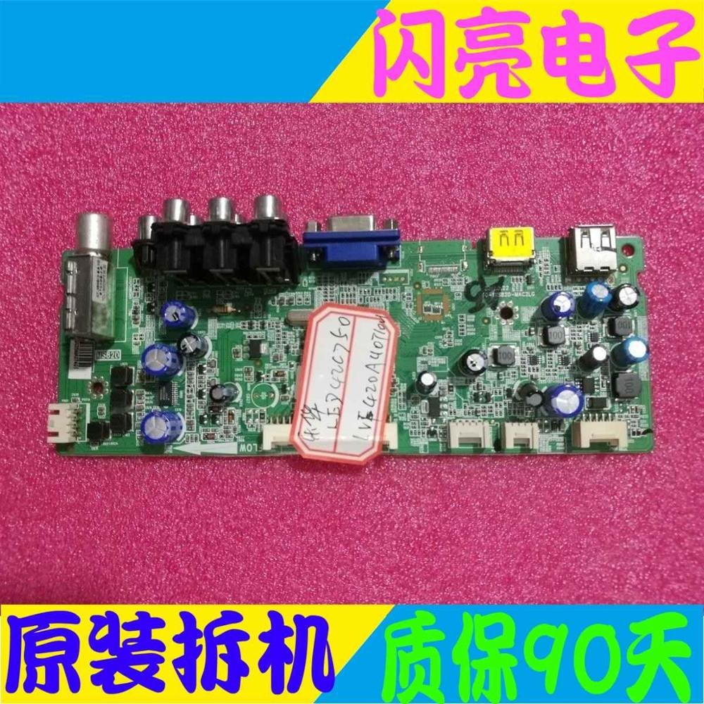 Main Board Power Board Circuit Logic Board Constant Current Board Led 42c750 Motherboard 40-1ms82d-mac2 Screen Lvf420auot Hot Sale 50-70% OFF Consumer Electronics