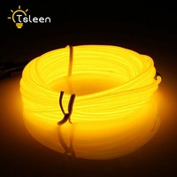 White 300CM Flexible Neon Light EL Wire Rope Tube With Controller Christmas Lights Outdoor Rgb Led