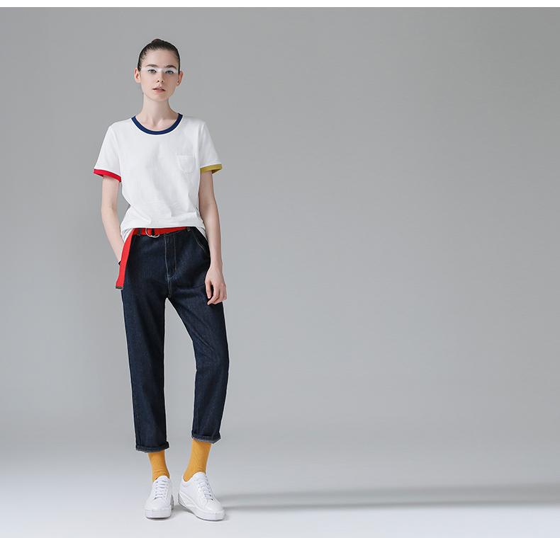 HTB1mBA5PpXXXXXNXFXXq6xXFXXXk - T Shirt Women Short Sleeve O-Neck Cotton
