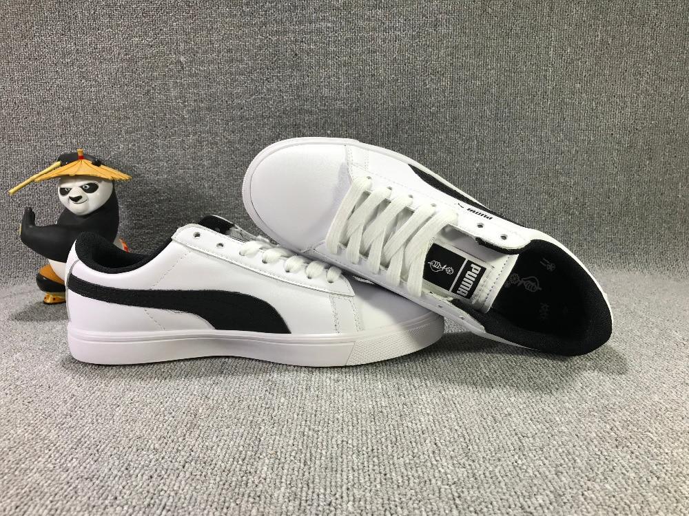 Free shipping Original BTS x Puma Collaboration Puma Court Star Korea Cadet shoes Women's Sneakers Badminton Shoes Size36-39