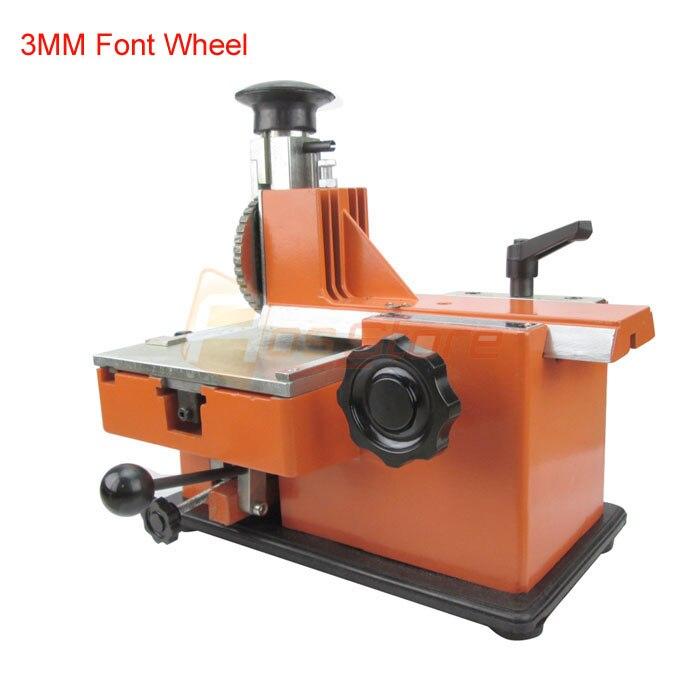 Metal Stamping Machine Tool Belarus: 3MM Manual Sheet Embosser Metal Stainless Steel Stamping