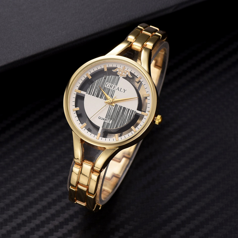 Gaiety  Brand Fashion Luxury Women Watch Gold Stainless Steel Skeleton Watch Creative Ladies Dress Bracelet Watch Quartz WatchGaiety  Brand Fashion Luxury Women Watch Gold Stainless Steel Skeleton Watch Creative Ladies Dress Bracelet Watch Quartz Watch