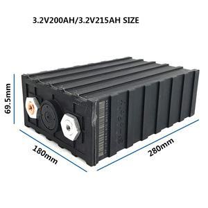 Sinopoly 3.2 v 200ah ruixu lifepo4 bateria de célula única com caixa de plástico, para rv, solar, marinha, e fora da grade