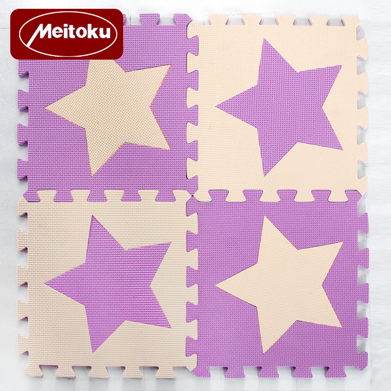 Meitoku-Baby-EVA-Foam-Puzzle-Play-Mat-kids-Star-Rugs-Toys-carpet-for-childrens-Interlocking-Exercise-Floor-TilesEach30cmX30cm-3