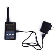 Escáner portátil Radio de Dos Vías del Contador de Frecuencia IBQ102 Medidor Amplia Gama de Prueba 10 MHz-2.6 GHz Sensible para Baofeng de radio Yaesu