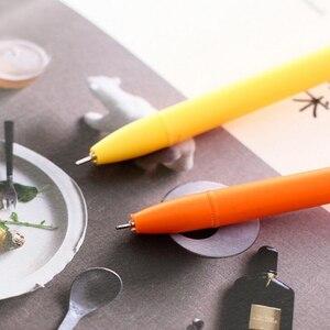 Image 3 - 36 шт./лот Kawaii серии собачьи гелевые ручки 0,5 мм канцелярские забавные ручки школьные Escolar Canetas офисные материалы школьные принадлежности детский подарок