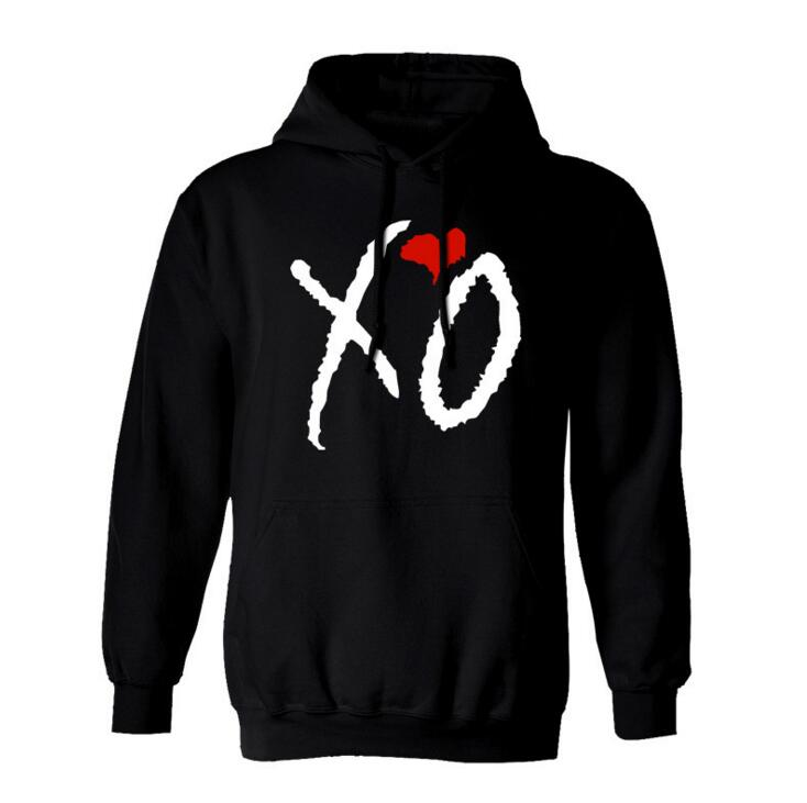 High High   New XO OWL Gold Unisex Hoodie Hoody Hooded Xo Ovoxo Xo The Weeknd Thur Drake Thicken Fleece S-3XL
