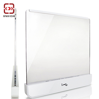I Mu 424 LED Light Wedge Panel Book Reading Lamp Paperback Night AAA Battery Powered