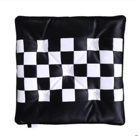 Sensational Us 21 73 9 Off Black White Chess Pattern Seat Cushions Chairs Dining Chair Cushion Floor Student Stool Mat Computer Car Cushion In Cushion From Home Pabps2019 Chair Design Images Pabps2019Com