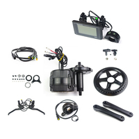 Bafang Electric Bicycle Motor 36V 500W C965A/P850C LCD BBS02 Bafang Electric bicycle Motor Crank Motor ebike kit