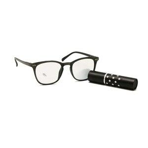Image 3 - Gafas ópticas fotocromáticas de transición, gafas de lectura de fuerza personalizadas, para miopía, hipermetropía, Rx + Rx, Retro, Nerd, UV400