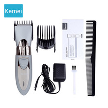 цена на Kemei Electric Hair trimmer clipper hair cutter Beard  Styling tools  cutting machine  trimer rechargeable 5
