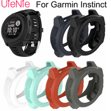 For Garmin Instinct smart watch Dial protection Transparent watch case For Garmin Instinct protective case accessorie soft silicone protective case for garmin instinct smart watch dial protection transparent watch case for garmin instinct watch