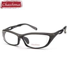 Chashma Brand Top Quality Men Sport Glasses Frame Prescription Spectacles Eyeglasses Frames for Male