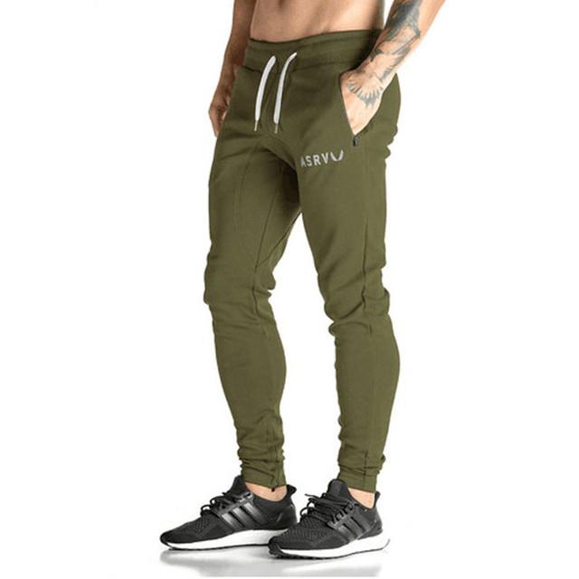 Calças Dos Homens Treino Bottoms Algodão Golds Aptidão Skinny Basculadores Sweat Pants Calças Pantalones Chandal Hombre Casuais
