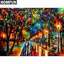 HOMFUN – peinture diamant thème