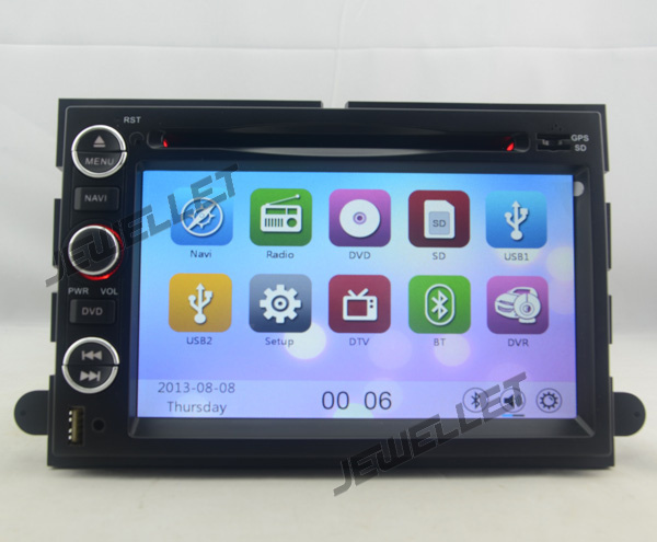 Car GPS radio DVD Navigation for Mercury Mariner Milan Montego Monterey Sable Mountaineer with 3G/Wifi DVR 1080P
