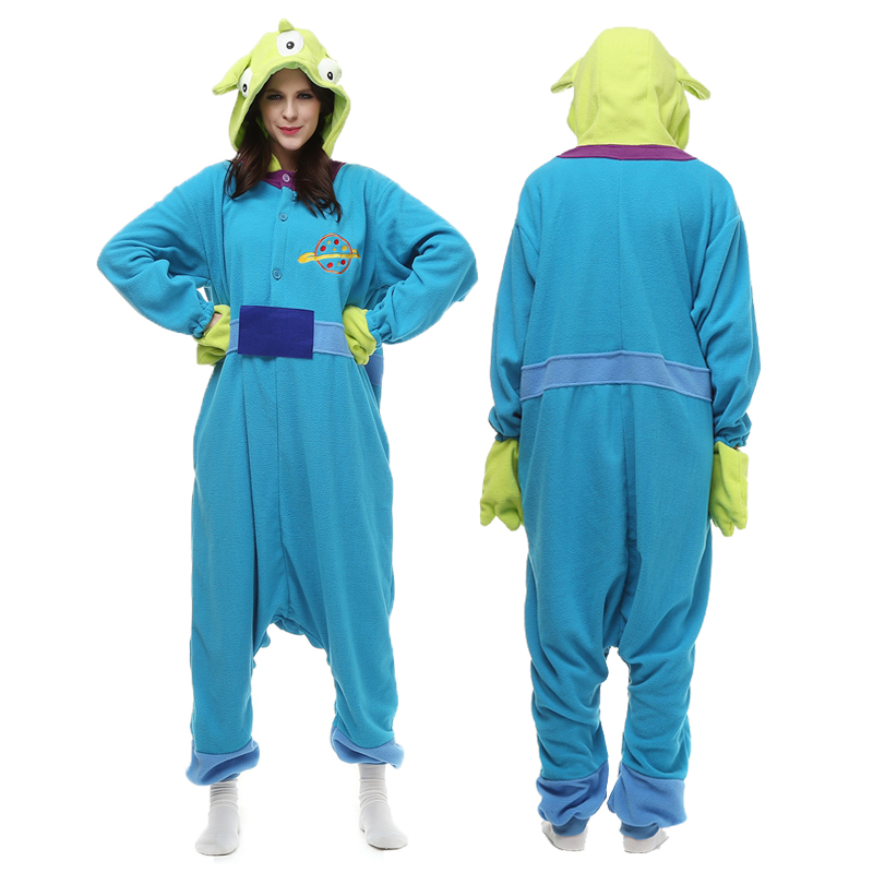 Envío Gratis Toy Story Alien Onesie Anime Cosplay Pijamas Adultos - Disfraces
