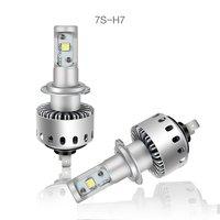 2Pcs/Lot Canbus H7 H4 110W 26000LM Cree XHP 70 50 Chip LED Headlight coche faro Lampara Bombilla bulb