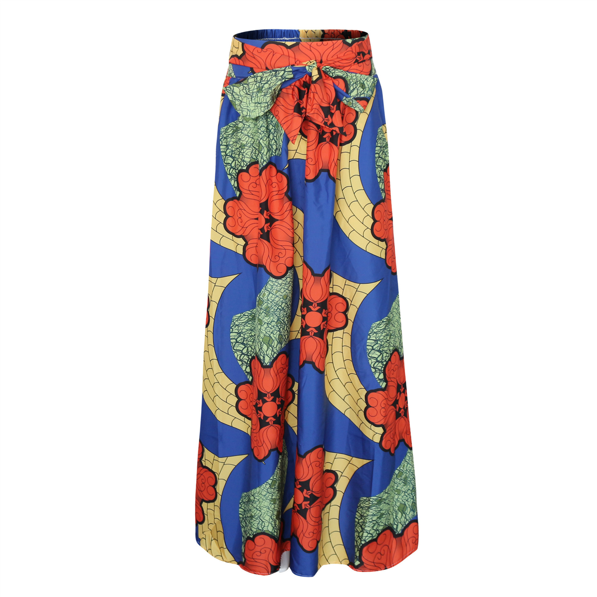 09c7287e045c6 US $35.0 |Plus Size Africa Clothes 5XL Indonesia Ankara Indian African  Pattern Print Women Summer Autumn Skirt Fashion Bandage Long Skirts-in  Africa ...