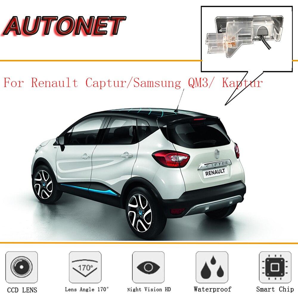 Câmera de Visão Traseira Para Renault Captur AUTONET/Samsung QM3/Renault Kaptur/CCD/Câmera Reversa/Backup câmera/câmera da placa de licença