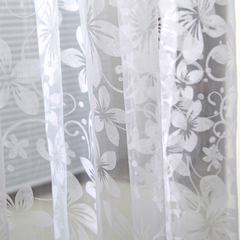 Home Door Window Panel Room Divider String Curtain Sheer Voile Tulle Drape Scarfs Curtains For Living Room