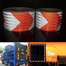 75mmx5m  High quality Safety Reflective Warning Tape Conspicuity Film Sticker For Car цена 2017