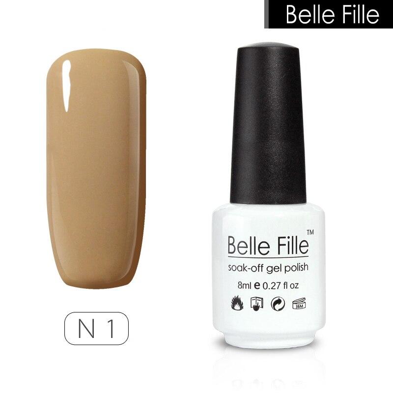 Bridal Gel Nail Polish: √Gel Nail Polish ᐊ UV UV Led Lacquer Varnish Nude Color