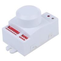WSFS Hot Microwave Motion Sensor Switch Doppler Radar Wireless Module For Lighting 220V White