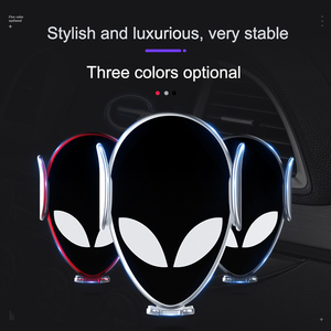Image 3 - 10W Qi Car Wireless Charger For Xiaomi MIX 2S Mi 9 iPhone X Samsung S9 Fast Wirless Charging Car Automatic Clamping Phone Holder