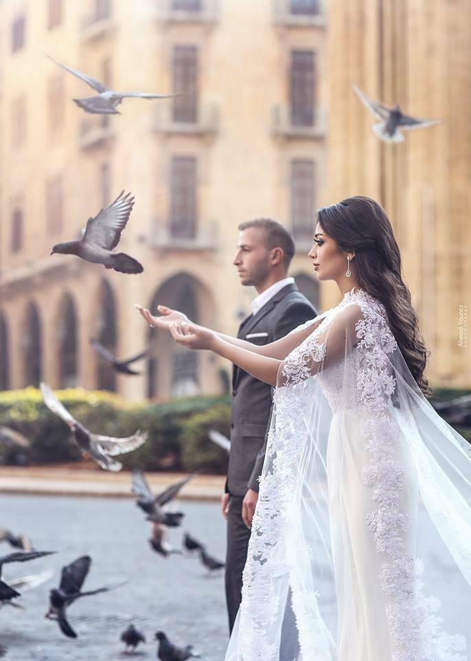 Simple Elegant White Ivory Wedding Wraps Accessories 2019 Lace Tulle Long Cape Bridal Jacket Shawl Applique Cloak Plus