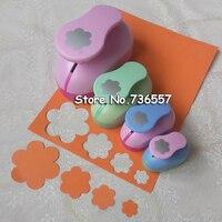 4pcs 5 0cm 3 8cm 2 5cm 1 5cm Five Petal Shape Craft Punch Set Scrapbooking