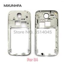 b5602661155 Nueva plata de Marco medio para reemplazo para Samsung Galaxy S4 i9505  i9500 I337 de bisel carcasa chasis caso de volumen de ene.