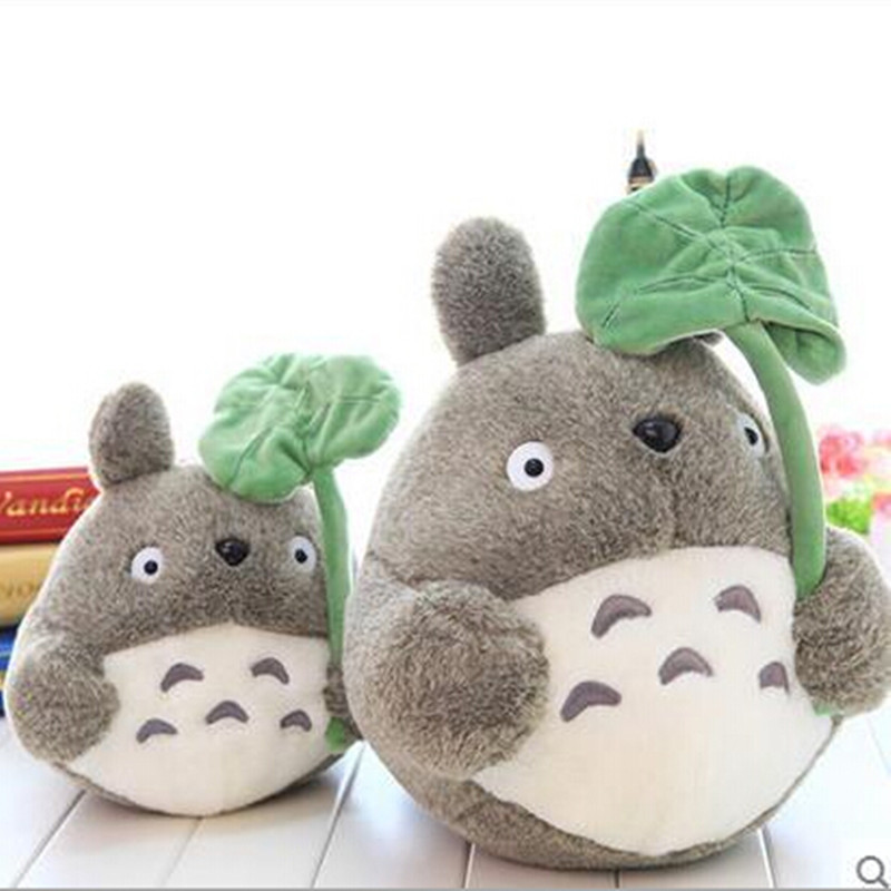 1pcs 8 20cm My neighbor Totoro Cartoon Plush Toy Totoro Stuffed Animal Soft Doll Girl's Gift Kids Toy Popular Toy Free Shipping free shipping about 60cm cartoon totoro plush toy dark grey totoro doll throw pillow christmas gift w4704